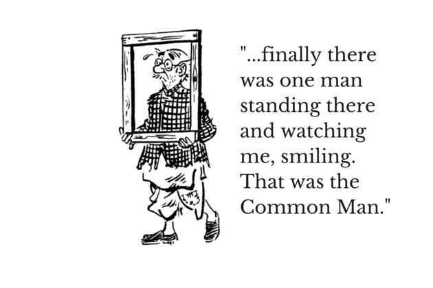 the common man rk laxman png